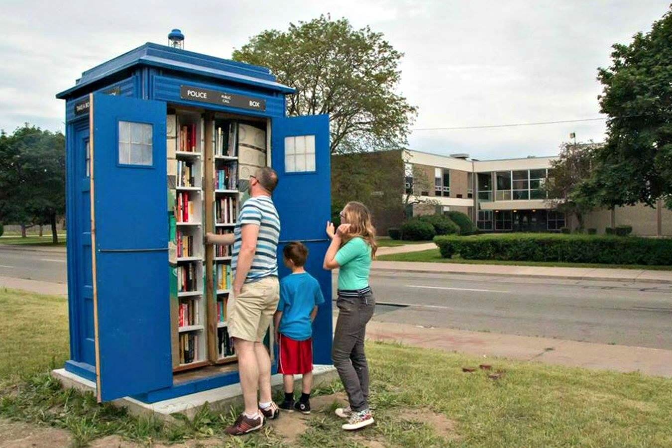 Little Library Detroit