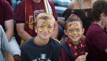 GIVEAWAY: CHEER WITH YOUR LITTLES AT THE DCFC GAMES