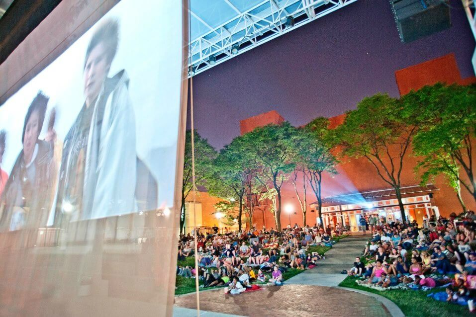 New Center Park Returns with FREE Family Movies this Summer