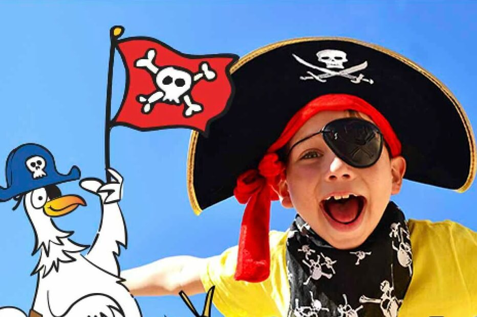 Mom – Son Pirate Dance Party
