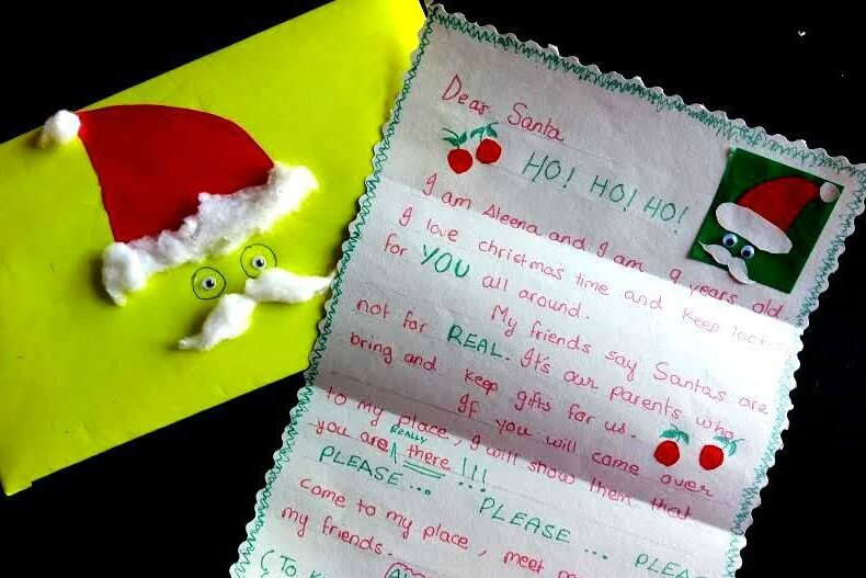 Letters To Santa Drop Off