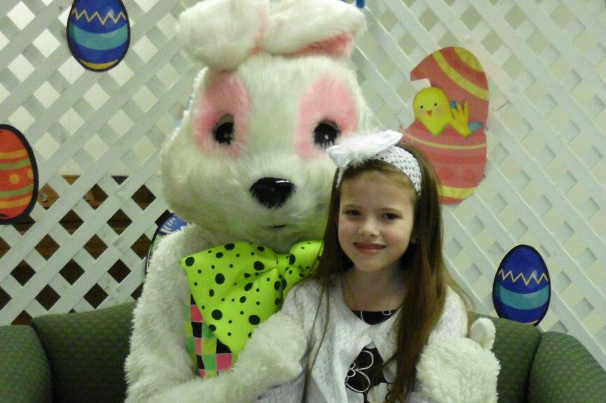 Easter Bunny Lunch