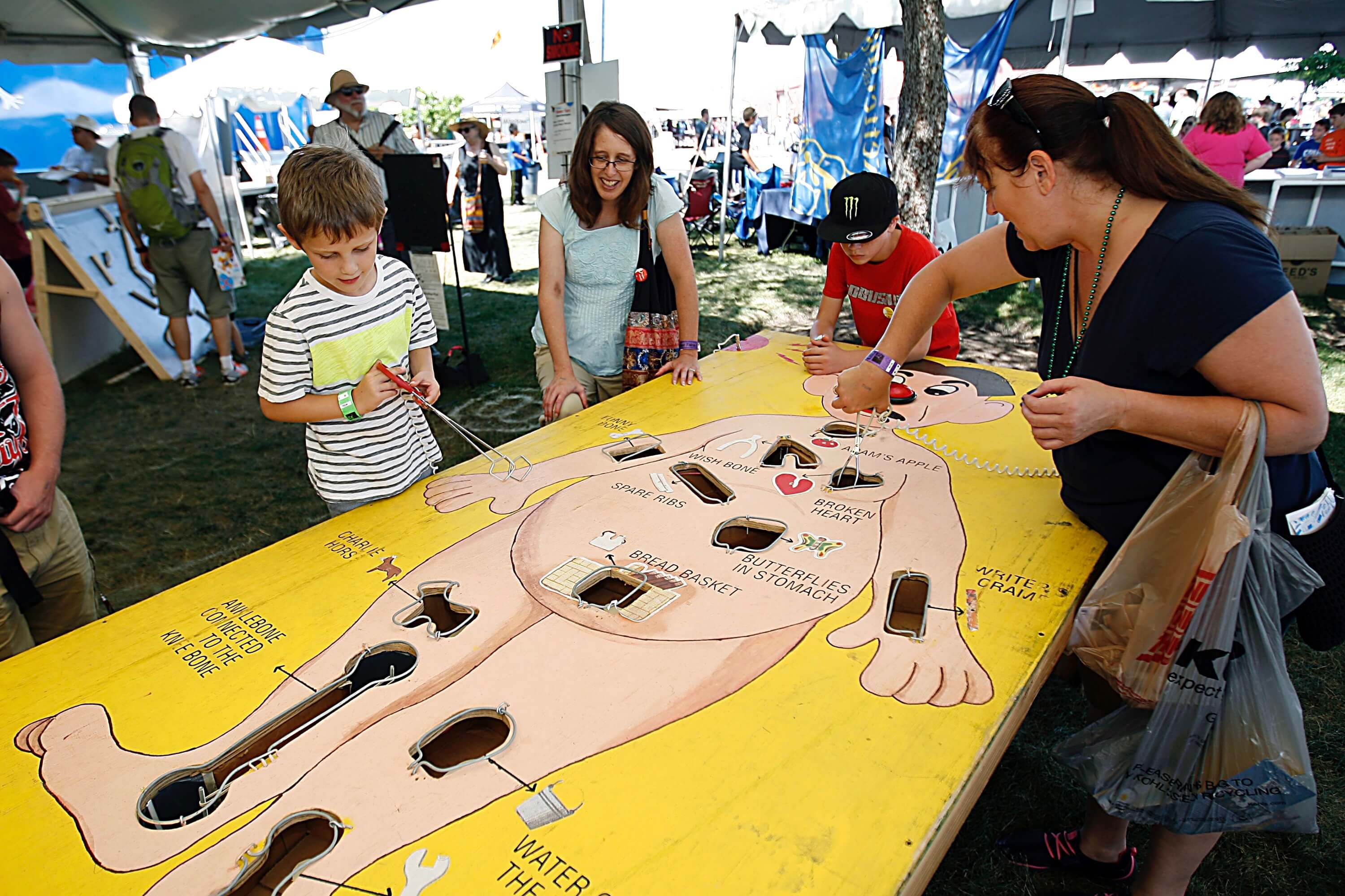 Maker Faire Detroit 2015 at The Henry Ford in Dearborn, Mich. Sunday, July 26, 2015. Gary Malerba/Special To The Henry Ford