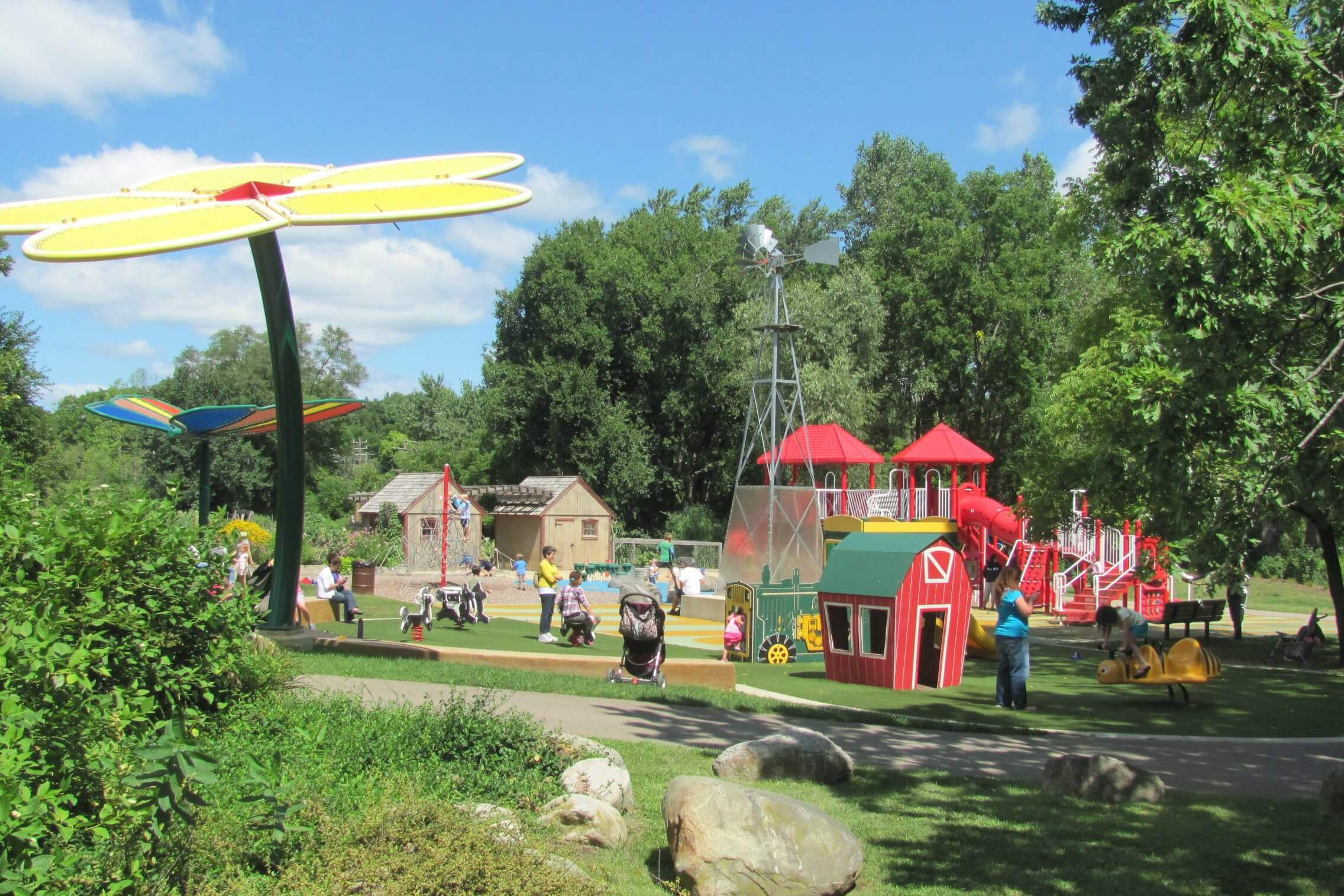 Our Favorite Playgrounds In Metro Detroit
