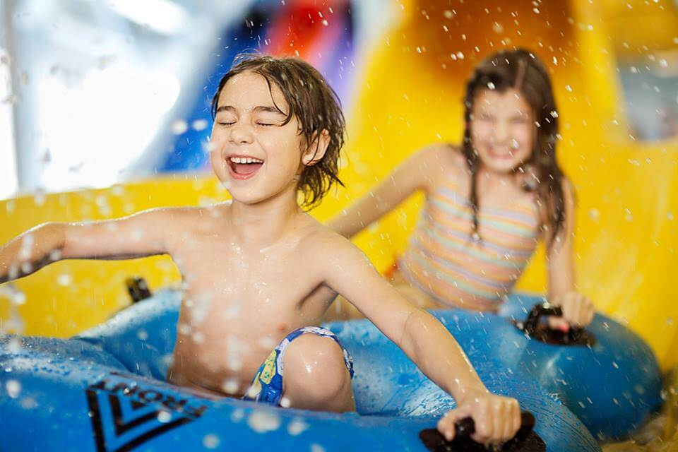 Water Park Slide Summer