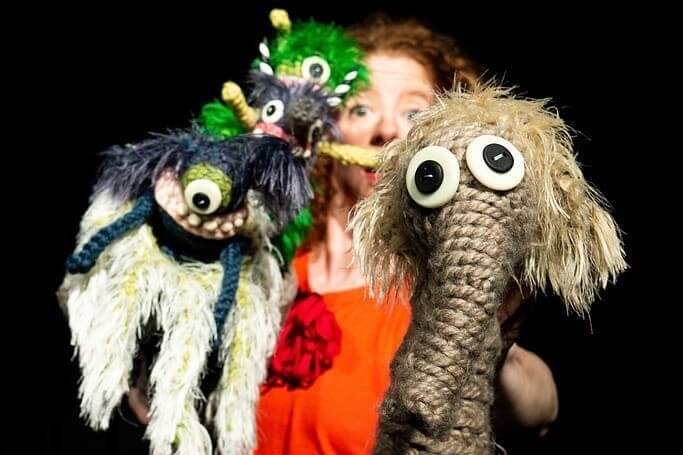 Puppet Performance: Go Home Tiny Monster