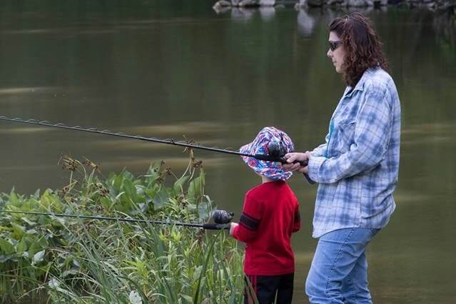 Kid's Fishing Day (A National Grandparents Day Celebration)