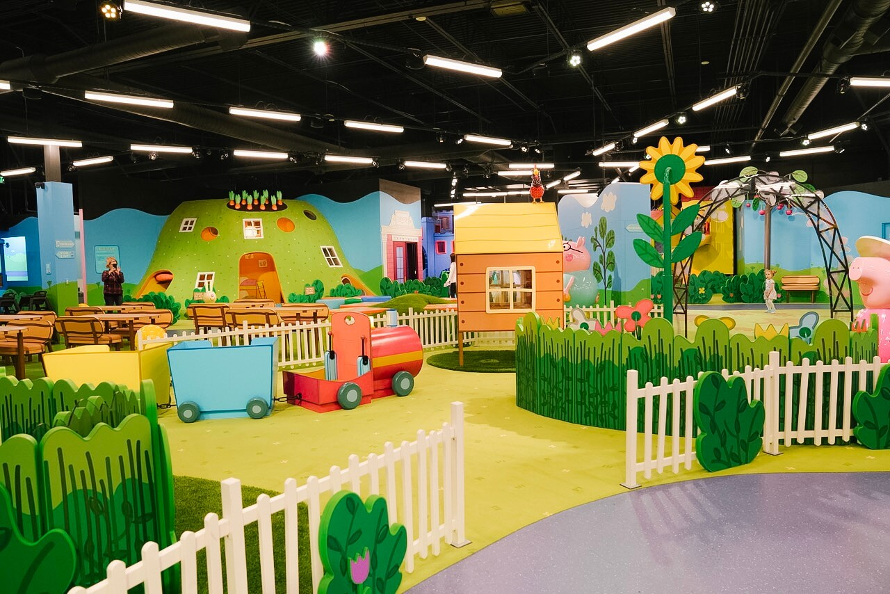 Plan A Trip To Peppa Pig World Of Play In Michigan