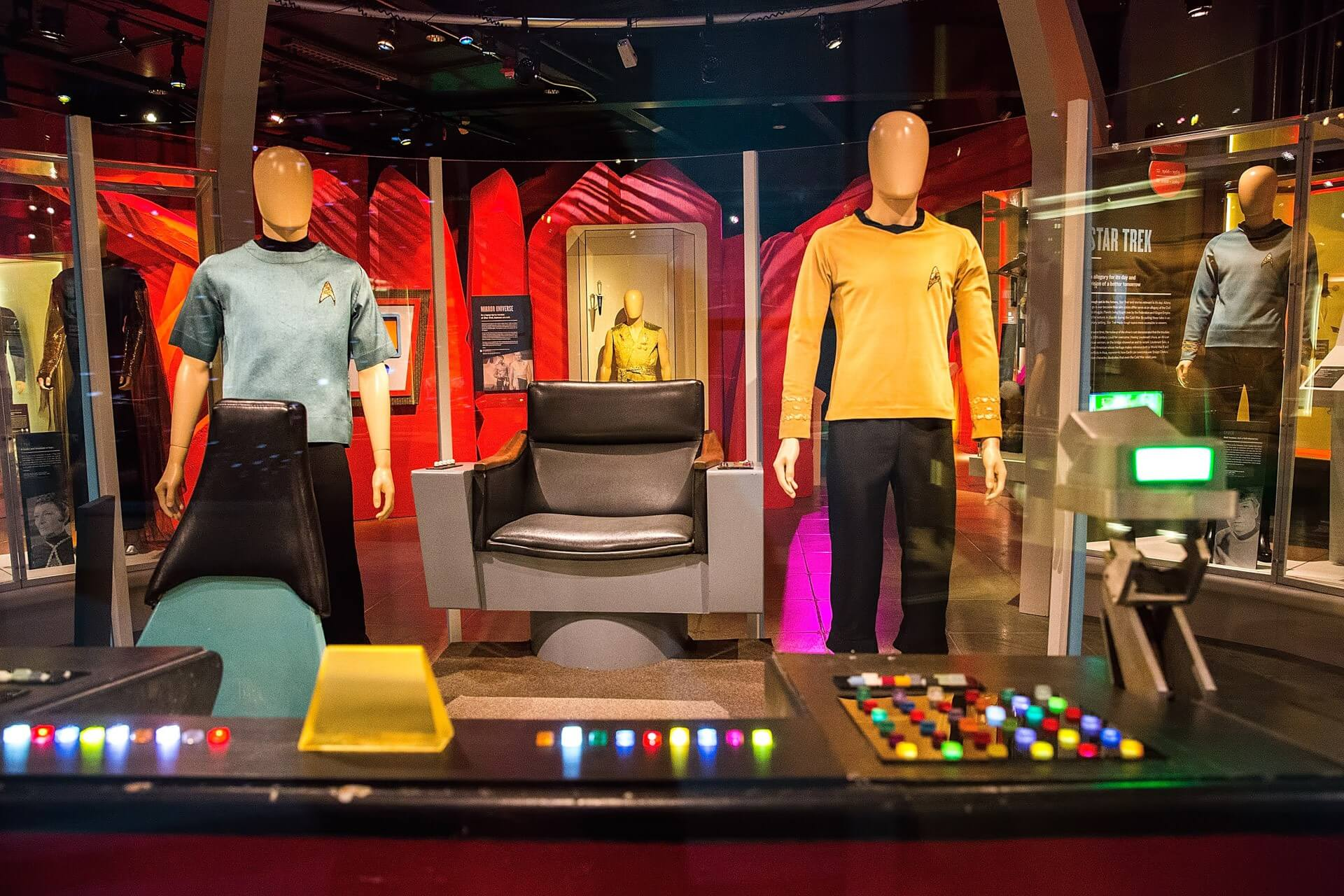 Star Trek™: Exploring New Worlds Exhibit Opening
