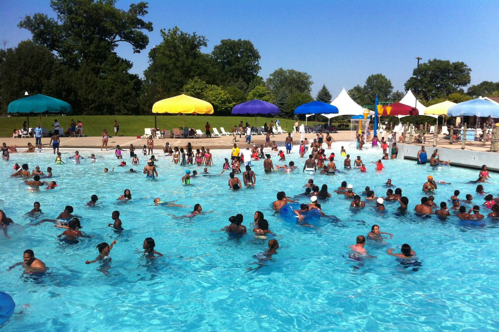 Wayne County Family Aquatic Center Opening Day