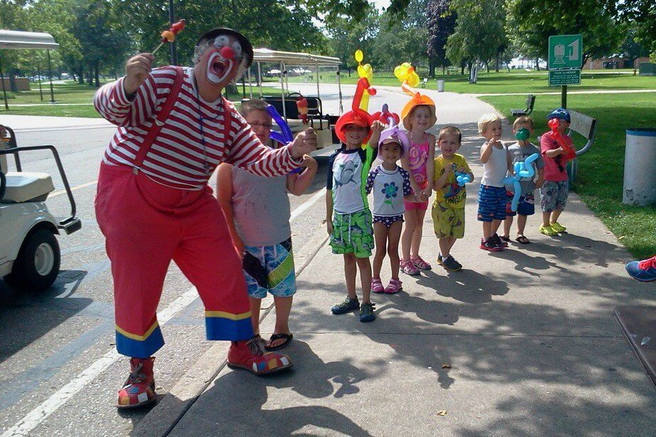 Rosco The Clown Silly Magic Show