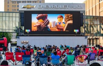 FREE Summer Movies At Little Caesars Arena