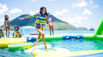 3 Inflatable Water Parks In Michigan