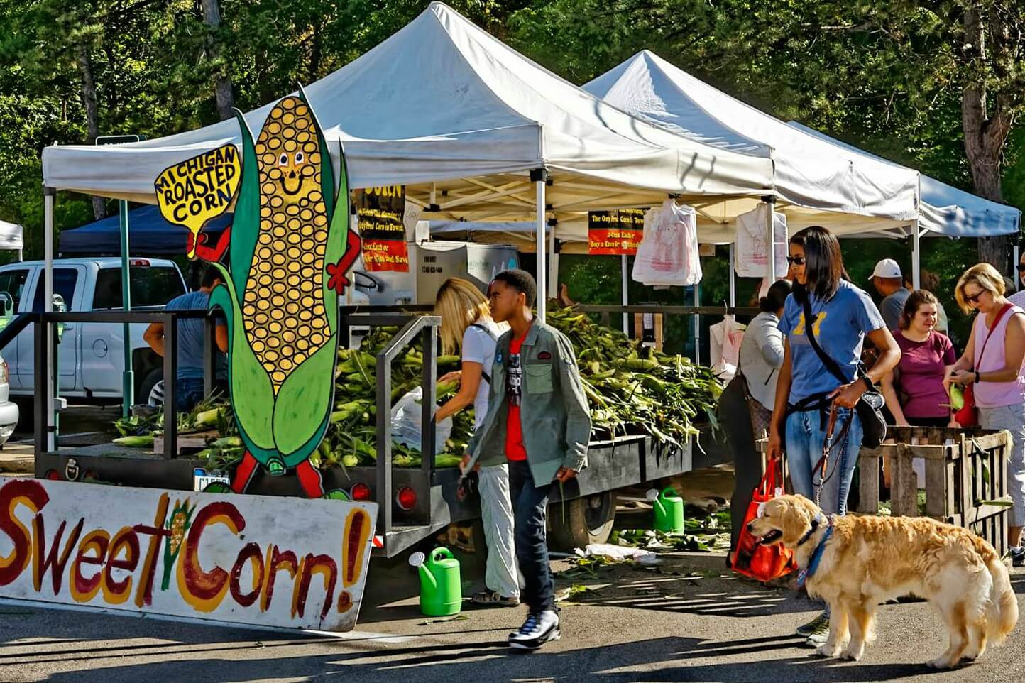 Corn Festival At The Birmingham Farmers Market