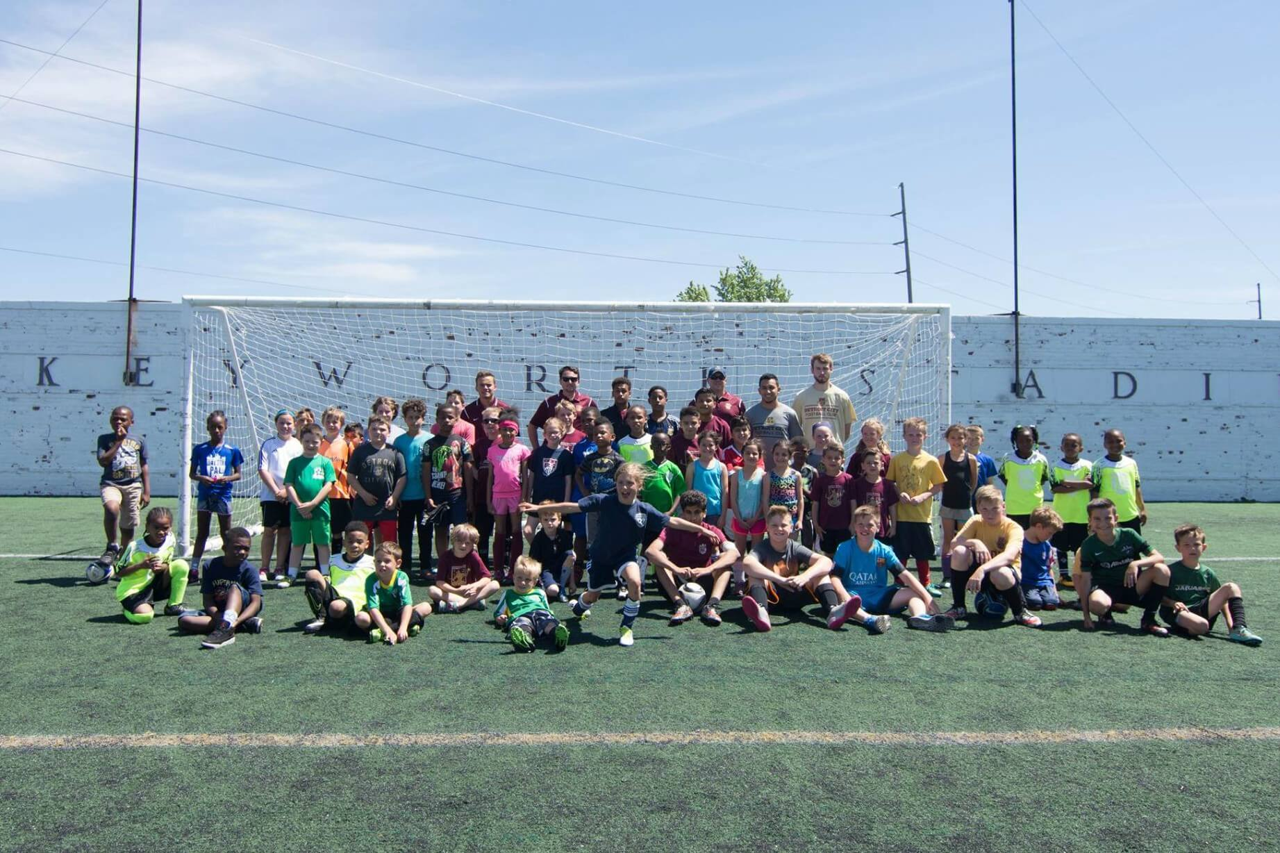 Detroit City FC Clinic
