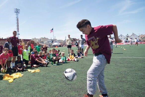 Detroit City FC Clinics