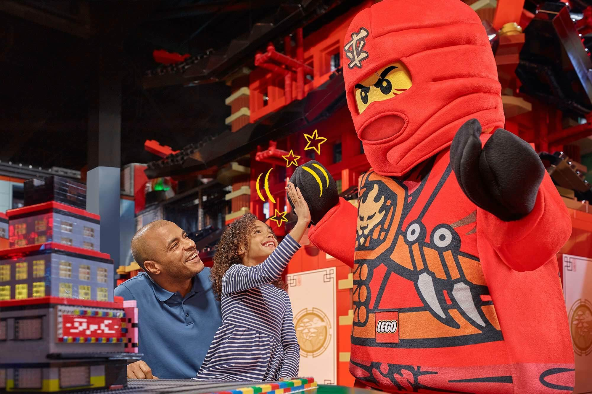 LEGOLAND Discovery Center Michigan's Ninjago Days