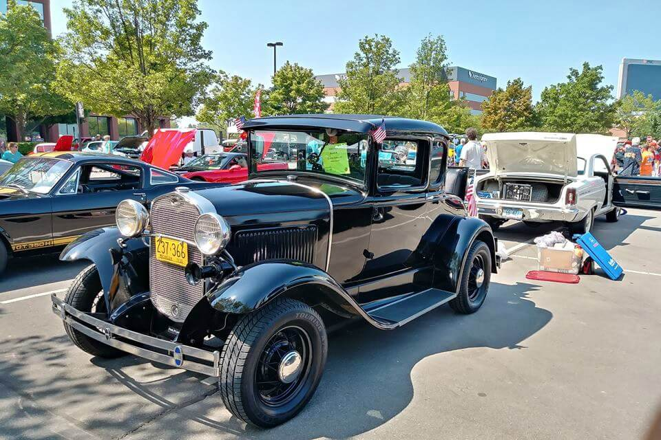 Troy Traffic Jam Classic Car Show