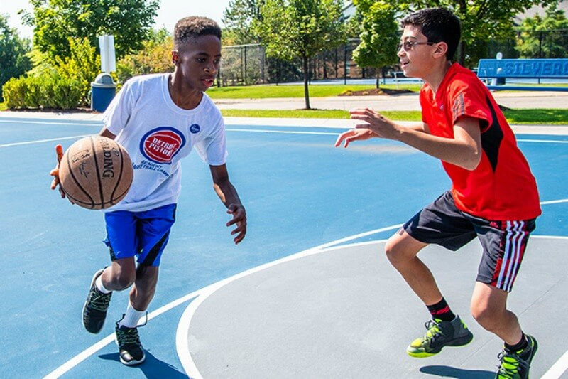 Pistons Neighbors Program – Youth Activities With Playworks
