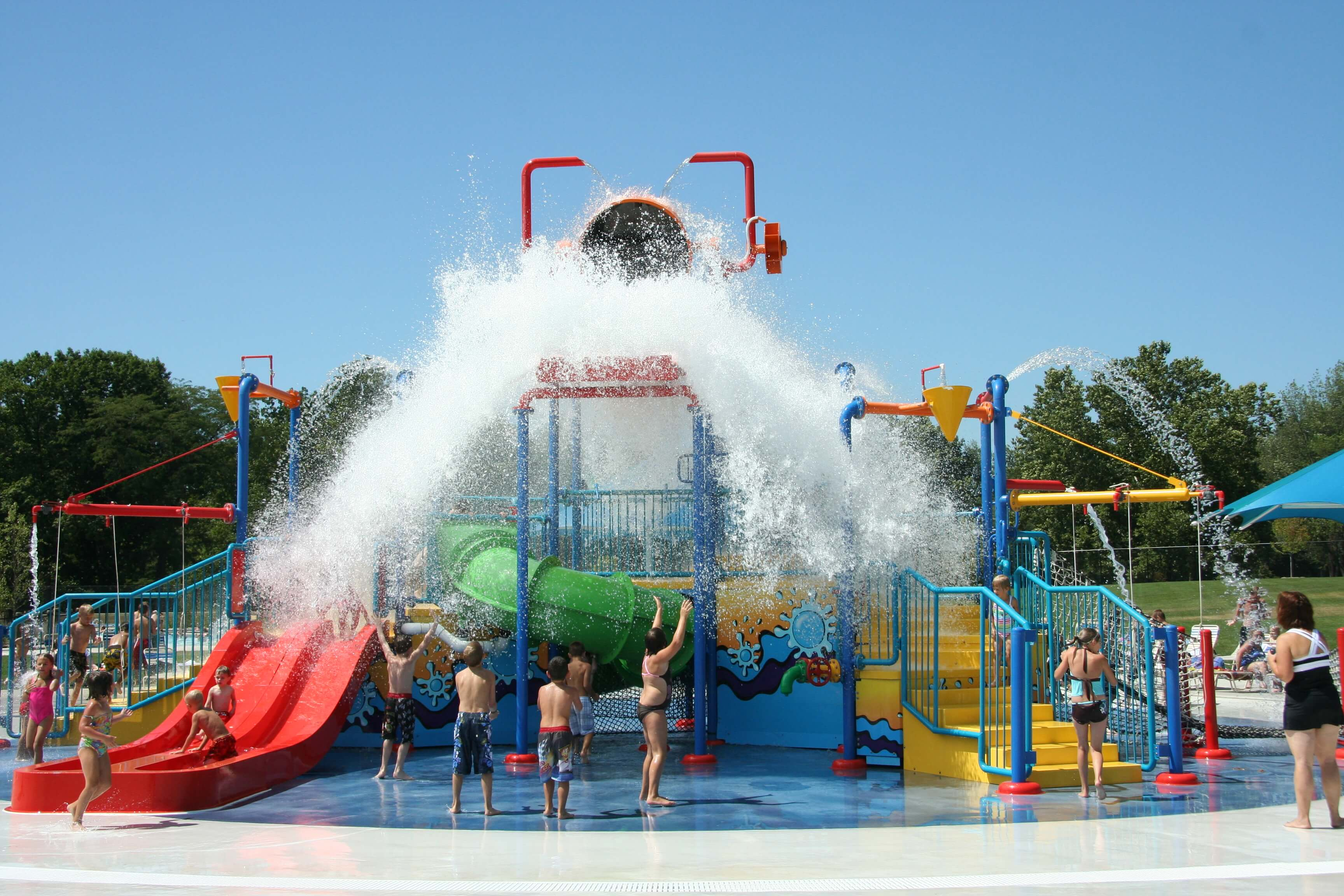 Splash Around At The Metroparks Splash Pads & Waterparks