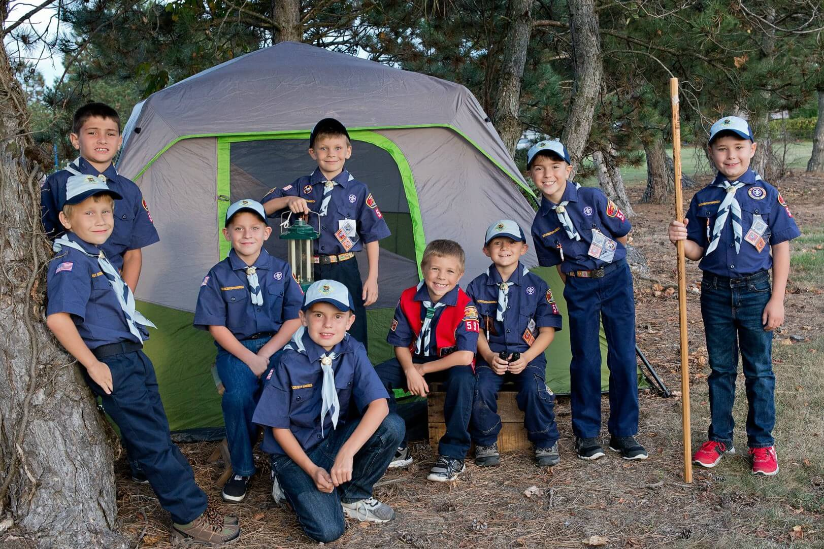 "Honoring All Scouts! ""Be Prepared"" For Fun!"