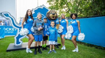 Detroit Lions Host A FREE Family Fest At Ford Field
