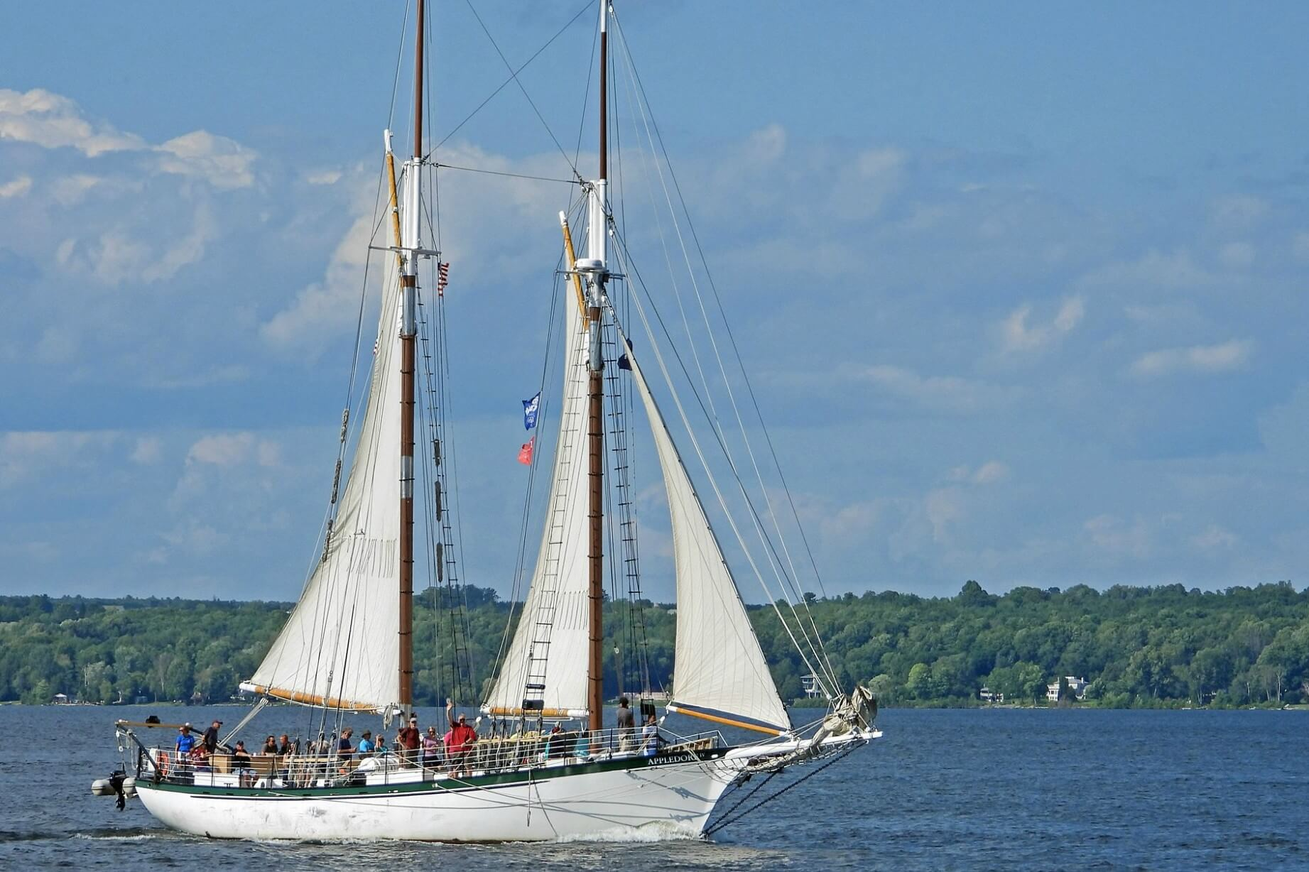 Tall Ship Tour On The Detroit River