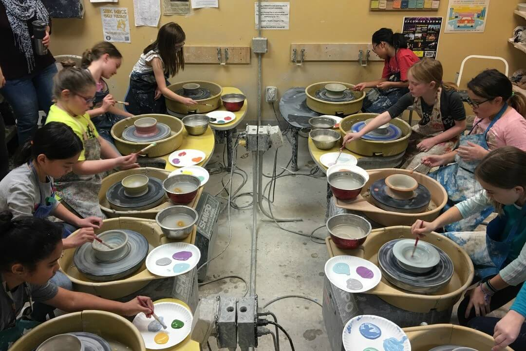 Pizza And Pottery Friday Tween Club Royal Oak
