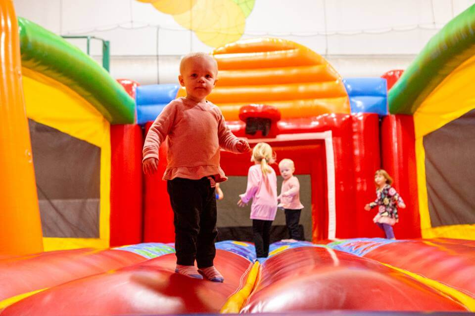 Giant Indoor Bounce!