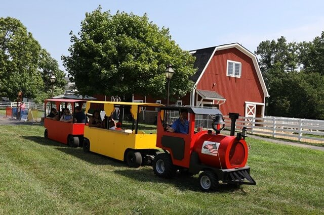 Fall Harvest: Trackless Train & Corn Maze Weekends