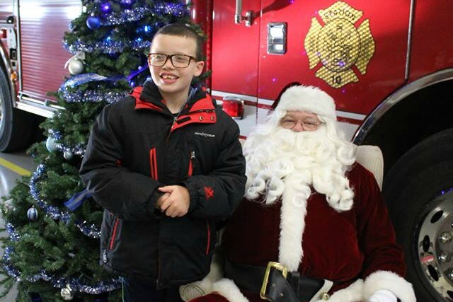 Santa At The Firestation