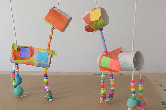 Crafty Animal Marionettes