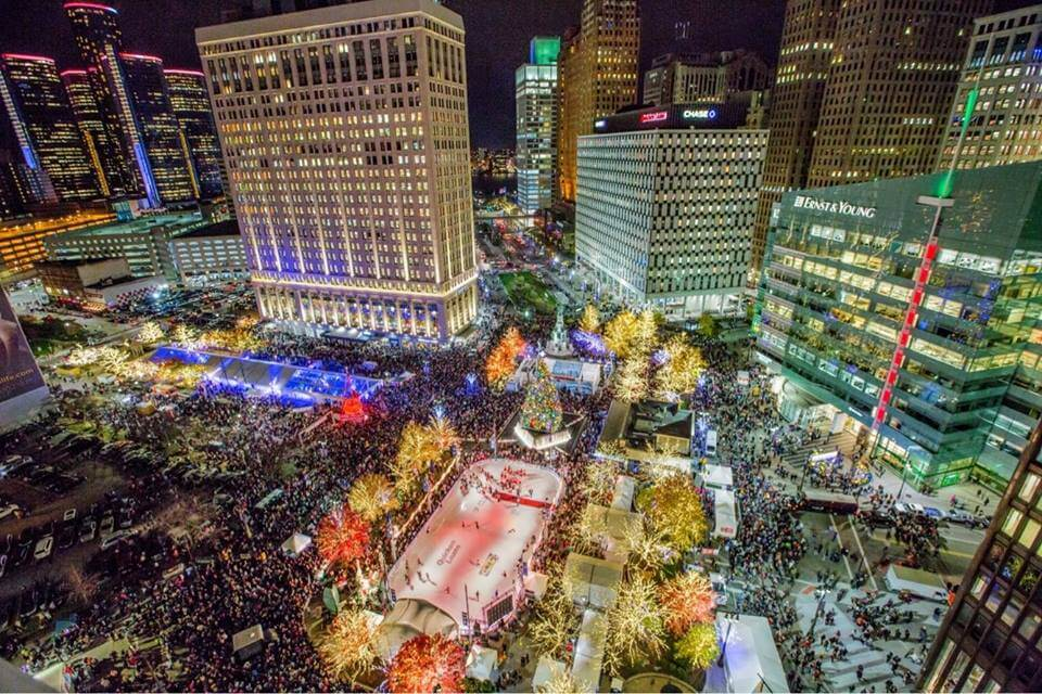 GUIDE TO DETROIT TREE LIGHTING 2020