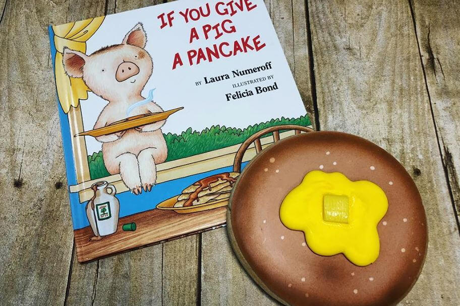 If You Give A Pig A Pancake – Costume Character Story Time