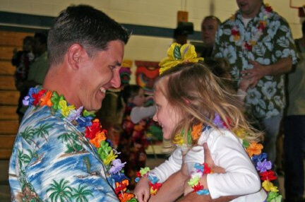 Daddy Daughter Luau