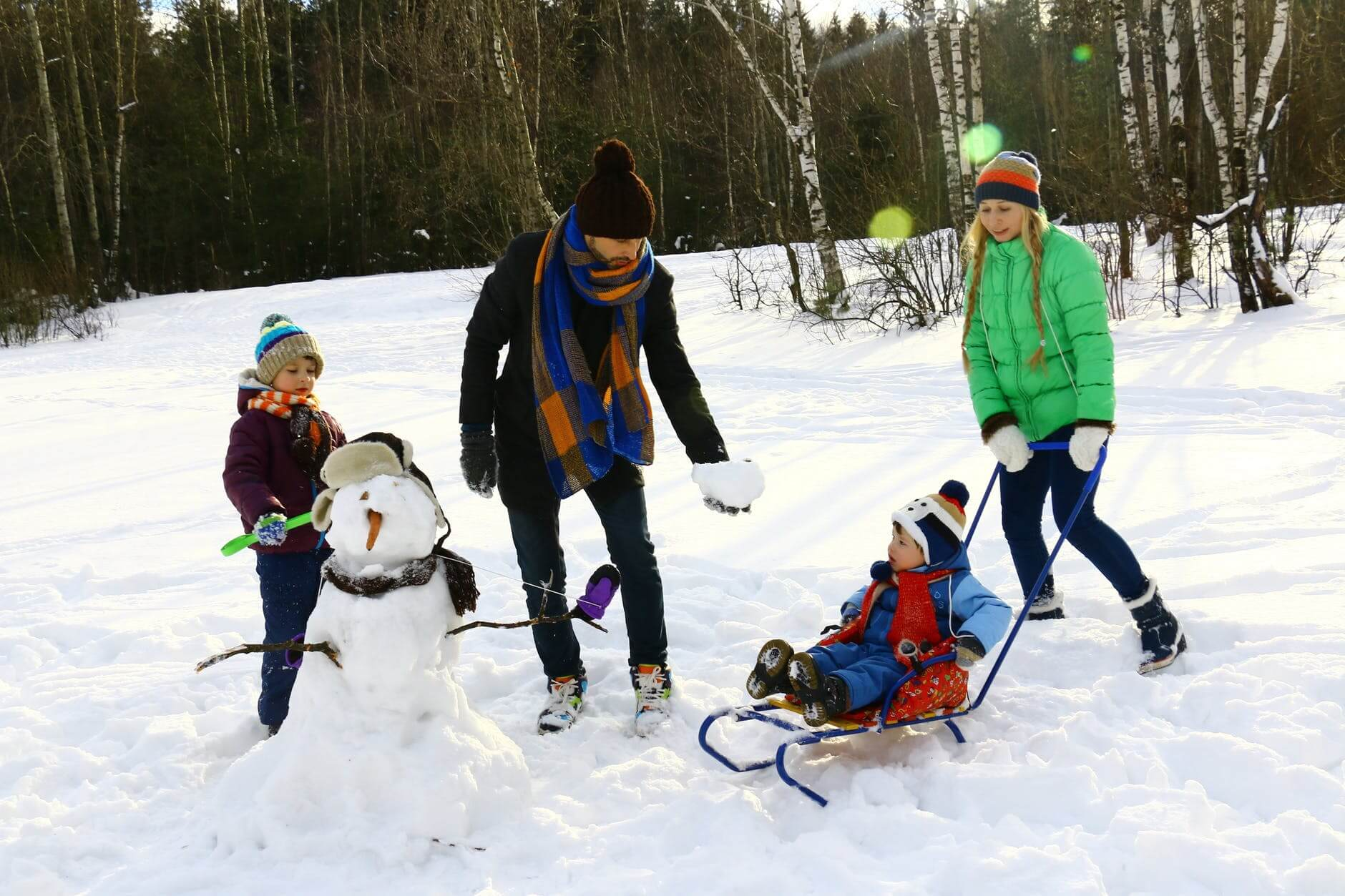 Snow Day Activities For Kids In Metro Detroit