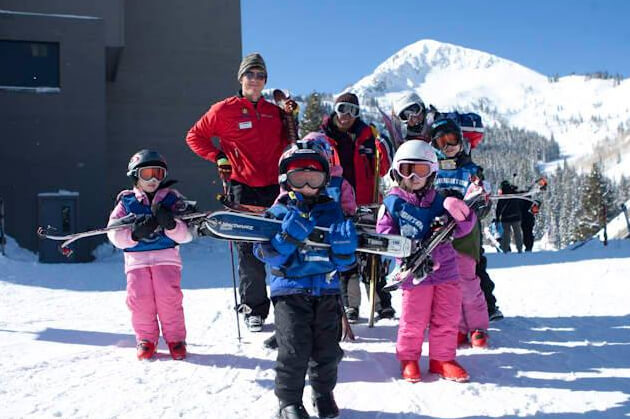 Frosty Freestyle Kids Ski Fun Race Training
