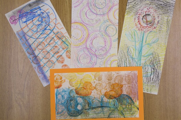 Drop-In Workshop: Printmaking | Crayon Rubbings