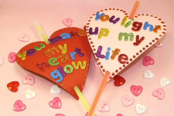 Drop-In Valentine's Crafts For Kids! Make Beaded Heart Valentine Ornament