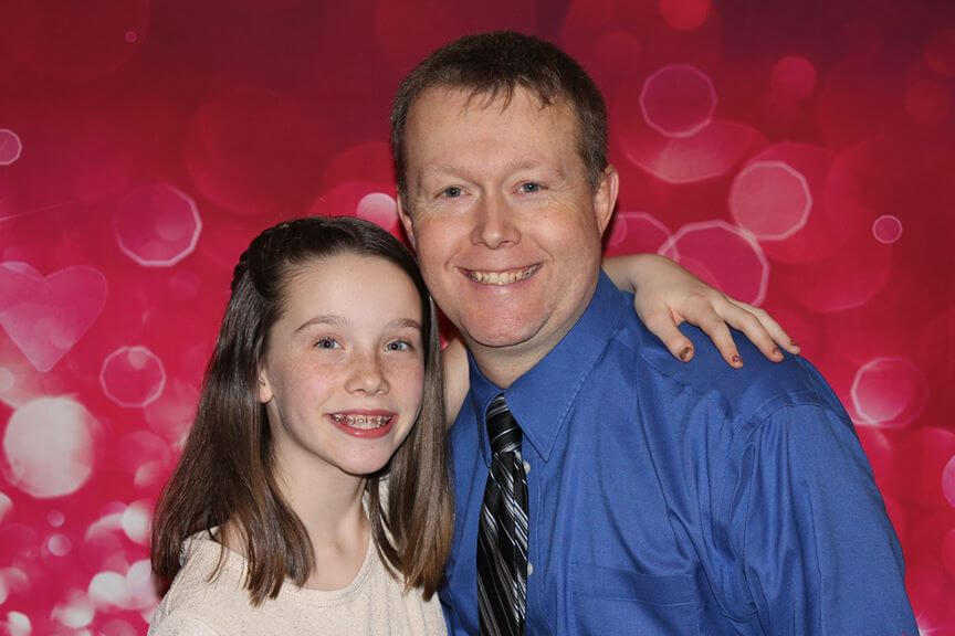 Daddy Daughter Dance-Thru Event