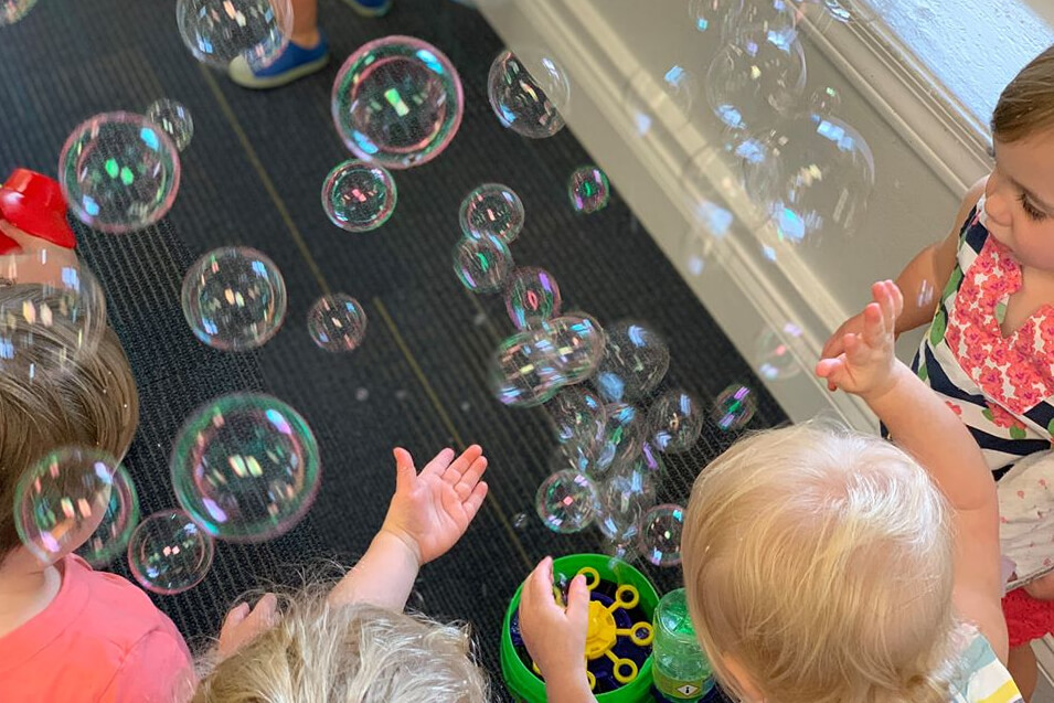 Family STEM Day – The Fluid Dynamics Of Bubbles