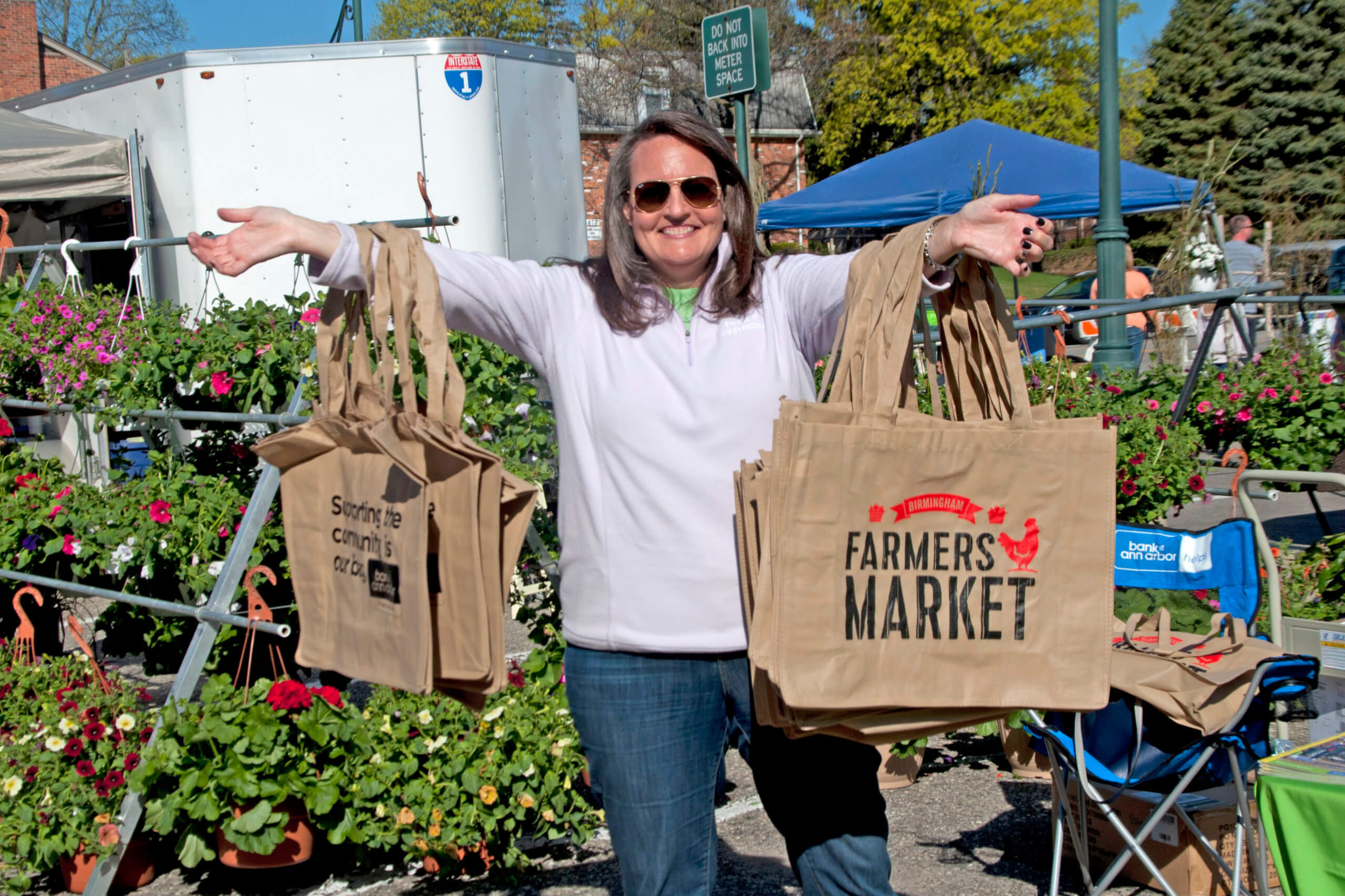 18th Annual Birmingham Farmer's Market Opening Day