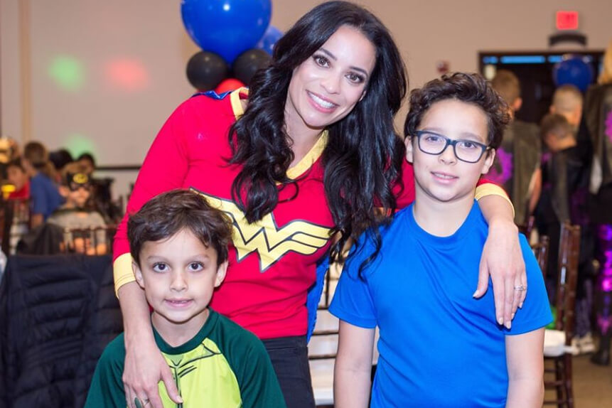 Mother/Son Super Hero Party