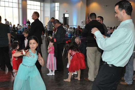 Daddy Daughter Dance – Late Seating