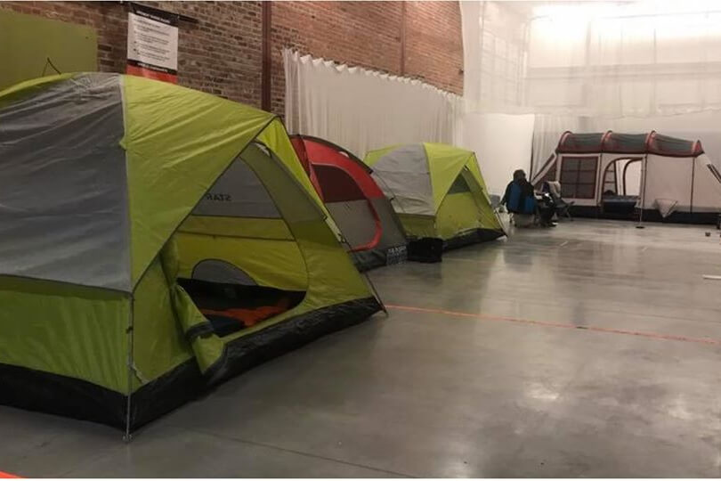 Indoor Family Campout