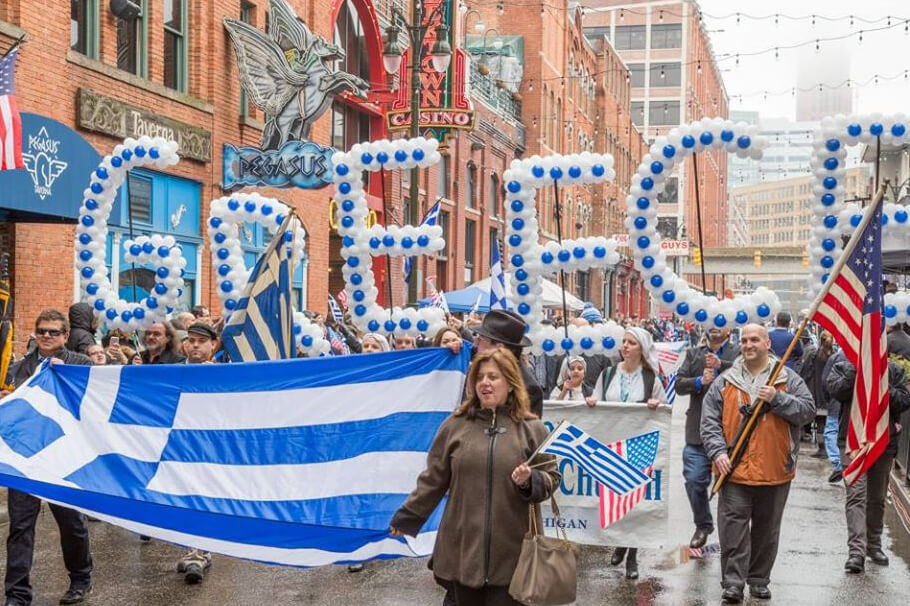 CANCELLED-2020 Detroit Greek Independence Day Parade