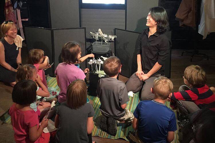 A Mouth With Flame – International Children's Play And Workshop