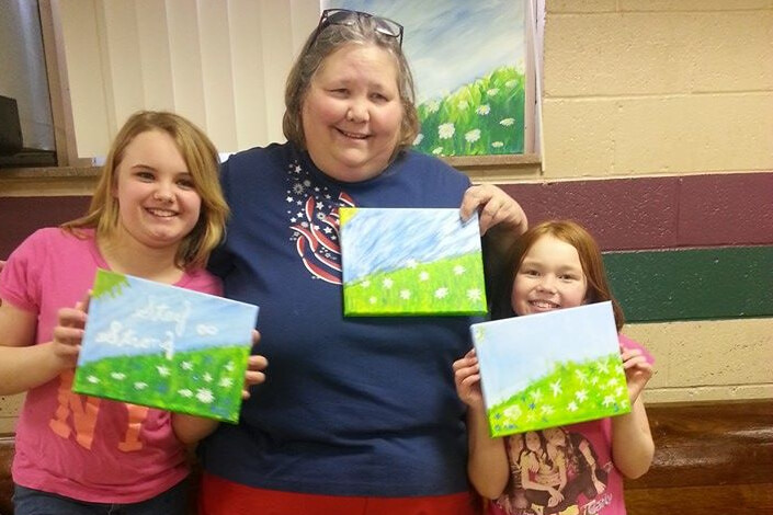 Painting With The Girls