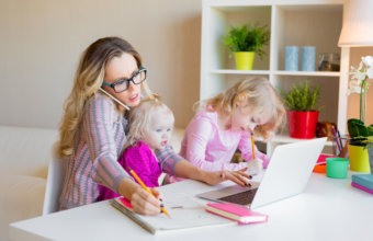 3 Best Strategies To Working From Home With Kids