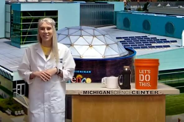VIRTUAL Science Lessons With Michigan Science Center